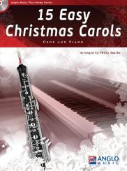 15 easy Christmas Carols (+CD) for oboe and piano