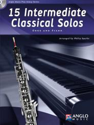 15 intermediate classical Solos (+CD) for oboe and piano
