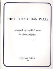 3 Elizabethan Pieces for oboe and piano