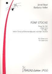 5 Stücke für Oboe