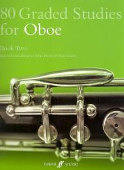 80 graded Studies for oboe vol.2