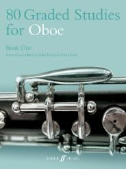 80 graded Studies for oboe vol.1