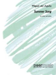 Aguila, Miguel del: Summer Song for oboe and piano