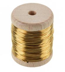 Brass Wire - 0.35mm Thickness