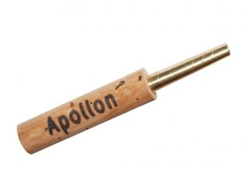 Oboe staple: Apollon, brass