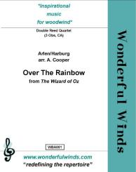 Arlen, Harold: Over the Rainbow for 3 oboes and cor anglais, score and parts