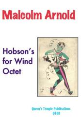 Arnold, Malcolm: Hobson's for 2 oboes, 2 clarinets, 2 horns in F and 2 bassoons, score and parts
