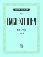 Bach, Johann Sebastian: Bach-Studien Band 2 für Oboe