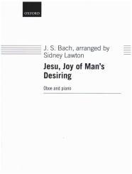 Bach, Johann Sebastian: Jesu Joy of Man's Desiring for oboe and piano