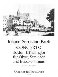Bach, Johann Sebastian: Konzert Es-Dur für Oboe, Streicher und Bc, für Oboe und Klavier