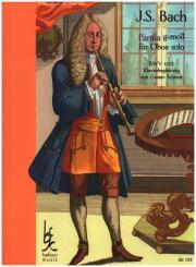 Bach, Johann Sebastian: Partita g-Moll BWV1013 für Oboe und Klavier