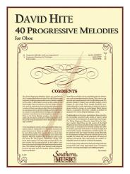 Barrett, , Apollon Marie Rose: 40 progessive Melodies for 1-2 oboes score