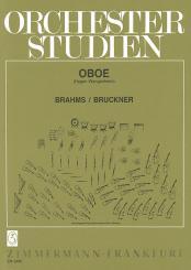Brahms, Johannes: Orchesterstudien für Oboe Brahms / Bruckner
