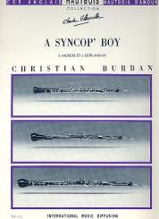 Burban, Christian: A Syncop' Boy pour 3 hautbois et 2 cors anglais, partition et parties