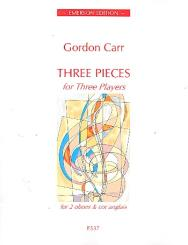 Carr, Gordon: 3 Pieces for 3 Players for 2 oboes and cor anglais, score and parts