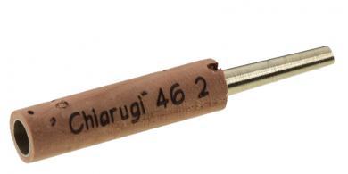Hülse für Oboe: Chiarugi Typ 2, Neusilber - 46mm