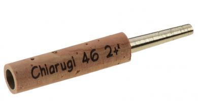Tubo tornito per oboe: Chiarugi tipo 2+, alpacca - 47mm
