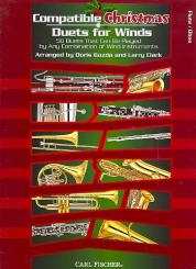 Compatible Christmas Duets for wind instruments, flute/oboe score