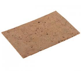 Cork sheet 150mm x 100mm, natural, first choice