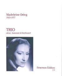 Dring, Madeleine: Trio for oboe, bassoon and piano parts