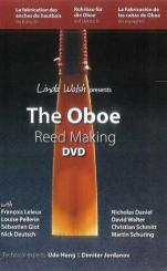 """DVD: """"The Oboe Reed Making"""" by Linda Walsh"""