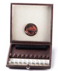 Lederetui für 9 Englischhorn-Rohre