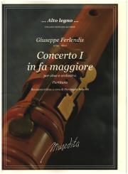 Ferlendis, Giuseppe: Concerto in fa maggiore no.1 per oboe e orchestra per oboe e pianoforte