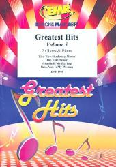 Greatest Hits vol.5 for 2 oboes and piano (percussion ad lib), score and parts