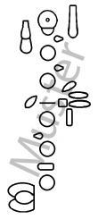 Griffbildstempel Oboe