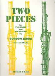 Jacob, Gordon Percival Septimus: 2 Pieces for 2 oboes and cor anglais, score and parts
