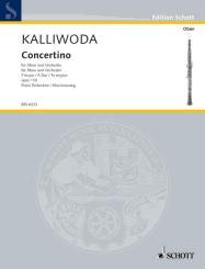 Kalliwoda, Johann Wenzel: Concertino op.110 für Oboe und Orchester, Klavierauszug