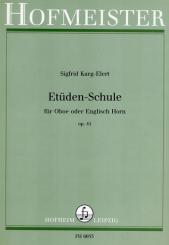 Karg-Elert, Sigfrid: Etüdenschule op.41 für Oboe