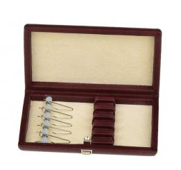 Leather case for 5 oboe reeds