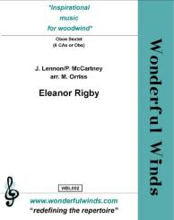 Lennon, John: Eleanor Rigby for 6 cors anglais (oboes), score and parts