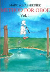 Book: Schaeferdiek, Marc: Method for Oboe vol.1 for oboe