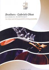 Morricone, Ennio: Brothers  und  Gabriel's Oboe für Oboe (Flöte) und Streicher, Partitur und Stimmen