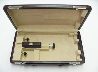 Oboe-Etui mit patentiertem Haltesystem