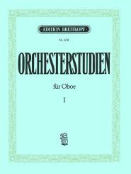 Orchesterstudien Band 1 für Oboe