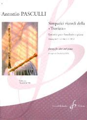 Pasculli, Antonio: Simpatici ricordi della Traviata pour hautbois et piano