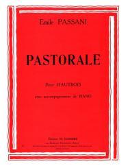 Passani, Emile|Pastorale pour hautbois et piano
