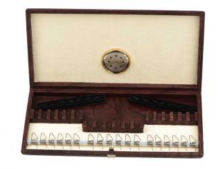 Hygrocase in pelle per 12 ance per oboe e 6 ance per corno inglese