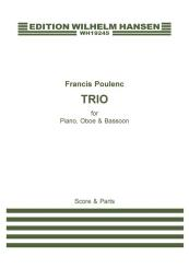 Poulenc, Francis: Trio for oboe, bassoon and piano