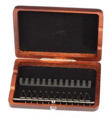 Astuccio in legno per 12 ance oboe