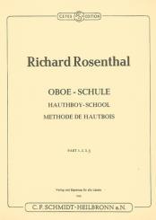 Rosenthal, Richard: Schule Band 3 für Oboe