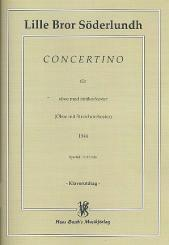 Söderlundh, Lille Bror: Concertino (1944) for oboe and string orchestra, oboe and piano