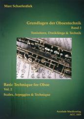 Buch: Grundlagen der Oboentechnik - Band 2