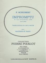 Schubert, Franz: Impromptuno.3 op.142 D935 pour piano pour hautbois et piano