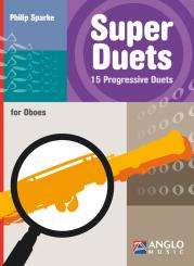 Sparke, Philip: Super Duets for for 2 oboes, score