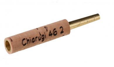 オーボエ・チューブ:Chiarugi Type 2, 真鍮製 - 46mm