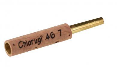Tudel para oboe: Chiarugi Modelo 7 (KF), latón